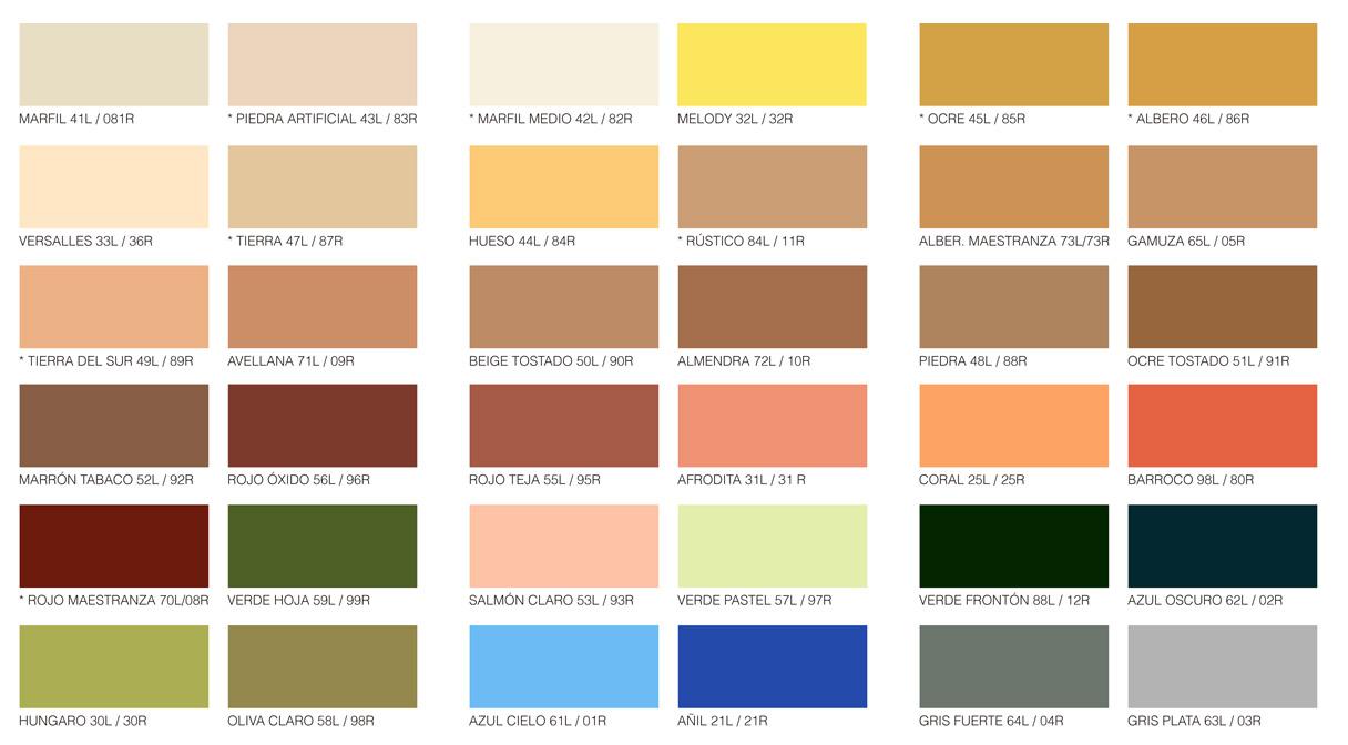 Reveliso colores - Nombres de colores de pinturas ...